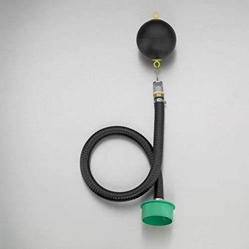 3P Technik Filtersysteme Schwimmende Drossel für Retention 1 Zoll für einen regelmäßigen, vorher definierten Abfluss aus der Zisterne BZW. Regenwassertank in die Kanalisation