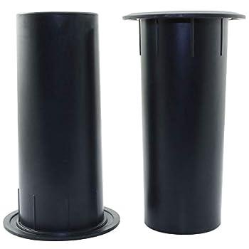 ToToT 2pcs Speaker Pilot Hole Outlet 50x120mm Speaker Cabinet Port Tube for Speaker Cabinet Portable Speaker Home Speaker or Car Speaker