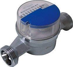 Andrae Einstrahl - Wasserzähler Kaltwasser Qn 1,5, 110 mm, Anschlussgewinde 3/4
