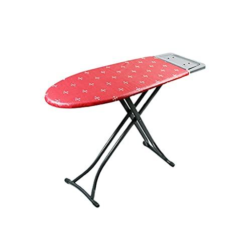 Tabla de planchar Placa de acero reforzada Placa de planchado, tablero de hierro plegable grande altamente ajustable, altamente ajustable, altamente ajustable. mesa de planchar portátil ( Color : B )