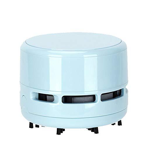 Mini Aspiradora de Sobremesa, Funciona con Pilas, Limpiador de Polvo de Mesa Inalámbrico para Limpiar Escombros, Residuos de Borrador, Teclado, Sofá, Coche