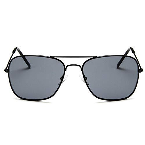 CHENG/ CHENG Sonnebrille Klassische Quadratische Sonnenbrille Männer Sonnenschein Für Frauen Legierung Spiegel Spiegel Sonnenbrille Weiblich