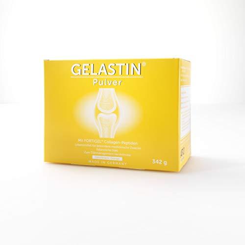GELASTIN Aktiv Pulver bei Arthrose und Gelenkschmerzen (bilanzierte Diät), 1-Monatspackung, 30 kleine Portionsbeutel perfekt für Unterwegs