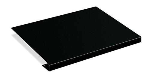 "HON 51206P 38000 Series ""L"" Group Corner Sleeve Connector, Black Metal, 22-1/2w x 18d"