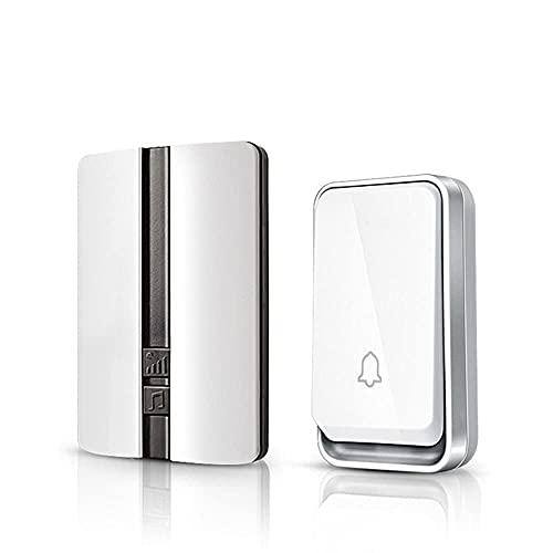 Doorbell inalámbrico K33 Timbre automotriz, press Tecnología automática de generación de energía, sin batería, más fuerte, mejor señal, potencia de penetración fuerte, adecuado para apartamentos, resi