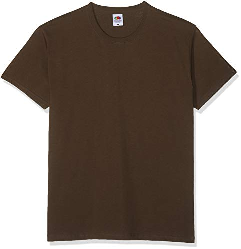 Fruit of the Loom Valueweight T-Shirt Chocolate XXL
