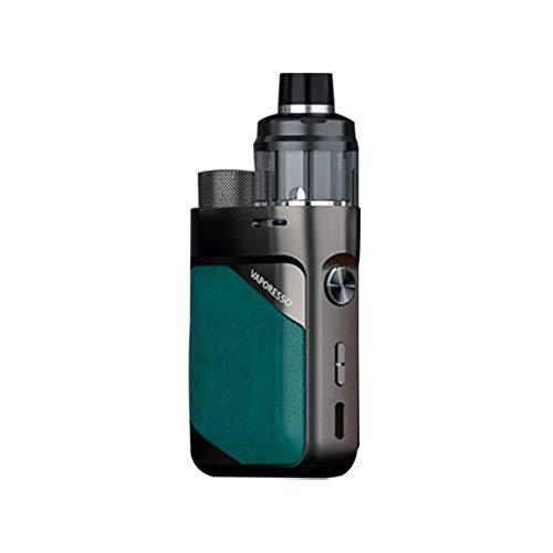Original Vaporesso Swag PX80 Kit 80W Pod Mod & 4ml Cartridge Pod Fit 0.2ohm 0.3ohm GTX Mesh Coil Electronic Cigarette Vaporizer (Emerald Green)