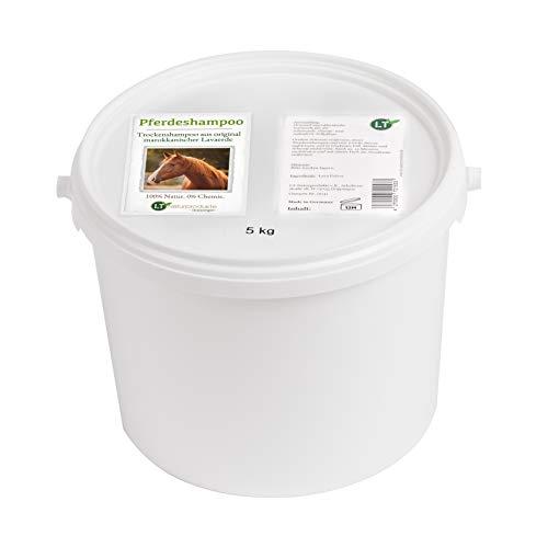Champú en seco para caballos, con lavaerde marroquí original, vegano y ecológico, para el cuidado del pelaje sin productos químicos, arcilla curativa en polvo, anticaspa sensible
