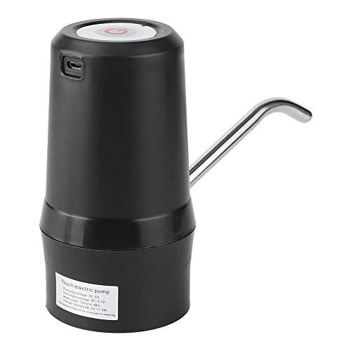Rodipu Keine Rost Praktische Wasserflaschenpumpe, Haushaltsgerät, für Flaschenlauf(Black)