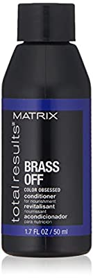 MATRIX Total Results Brass Off Nourishing Conditioner | Nourishes & Moisturizes Dry Hair | For Color Treated Hair