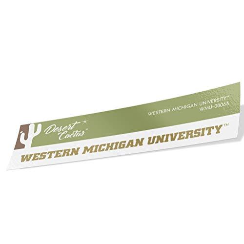 Western Michigan University WMU Broncos Vinyl Decal Laptop Water Bottle Car Scrapbook (Sticker - 00063)