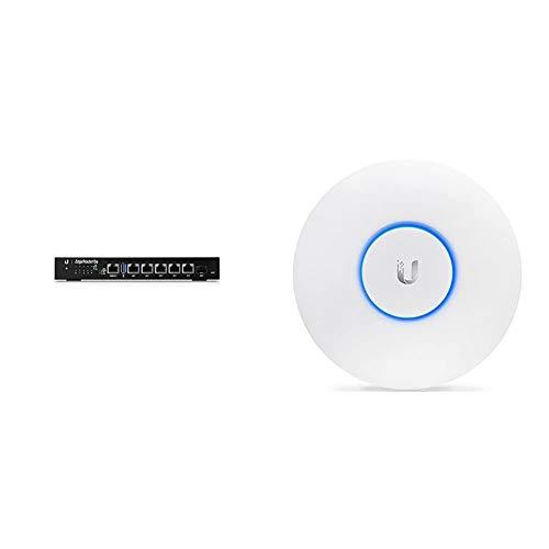 Ubiquiti EdgeRouter 6 port PoE Networks UAP AC PRO weis