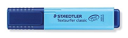 Staedtler Textsurfer Classic 364 Highlighter - Blue, Pack of 10