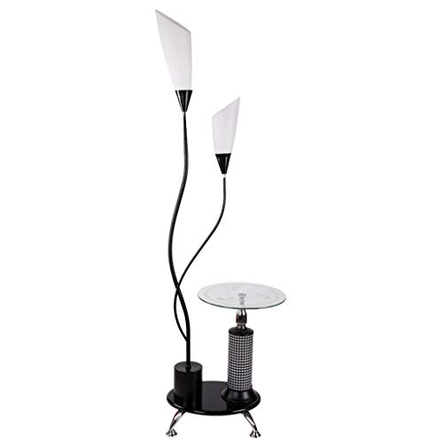 WEM Neuheit Lampen Für Den Hausgebrauch, Home Mall- Eisen Stehlampe | Moderne Stehlampe Im Minimalistischen Stil Mit Tisch | Für Wohnzimmer Schlafzimmer Arbeitszimmer