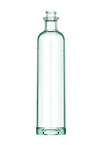 Juego de 3 botellas Philos | 700 ml | de cristal reciclado | wild glass Edition | incluye tapón de rosca