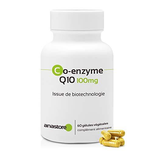 COENZIMA Q10 * 100 mg / 60 cápsulas * Pureza garantizada (obtenida por fermentación natural) * Cardiovascular, Cerebro, Inmunitario, Músculos & esqueleto, Piel