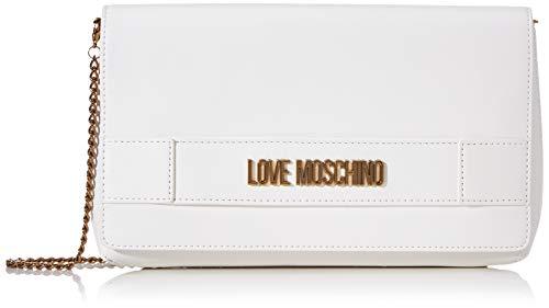 Love Moschino Jc4264pp0a, Pochette da Giorno Donna, Bianco (WHI),...