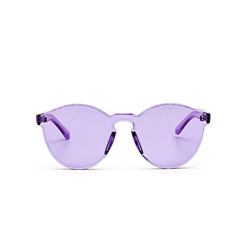 Chudanba Cat Eye Sonnenbrille Frauen Rahmenlose Runde Sonnenbrille Randlose Brillen Damenbrille,Stil 6