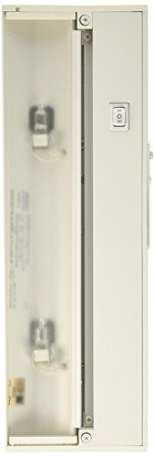 Juno UPX214 WH Halogen Xenon Under Cabinet Light, 40 Watts, 14 Inch, Designer White