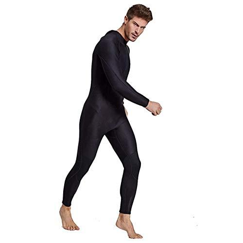 ZMMYD 2mm Uomo Donna Completa Muta Nera Neoprene Coppia Fullbody Manica Lunga Muta da Sub Amanti Scuba Diving,Men,XXL
