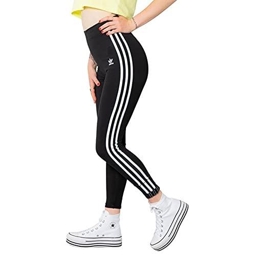 adidas 3 Stripes Tight Leggings, Black, 18 Donna