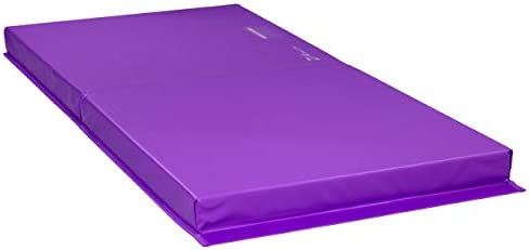 Z ATHLETIC Landing Crash Mat Open Cell for Gymnastics Tumbling Martial Arts Multiple Colors and Sizes