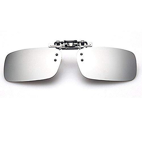 クリップオン サングラス 跳ね上げ 偏光サングラス クリップ UV400 夜間運転 偏光スポーツサングラス 偏光レン ズ メガネの上からつけられる 付きサングラス 偏光クリップ眼鏡 紫外線カット 前掛けクリップ式サングラ ス 収 納ケース付き 超軽量 男女