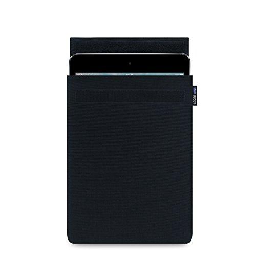 Adore June 7,9 Zoll Classic Tasche für Apple iPad Mini 5 und iPad Mini 4; Robuste und Leichte Hülle | Made in Europe, Schwarz