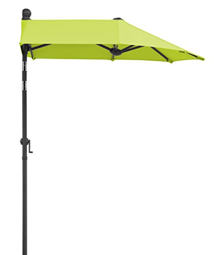 Schneider - Ombrellone Salerno Mezzo, 150 x 150 cm, Colore Verde Mela