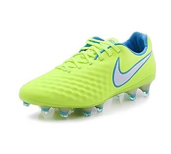 Nike Women s Magista Opus II FG Soccer Cleat -  Volt/White/Barely Volt/Chlorine Blue   8 M US