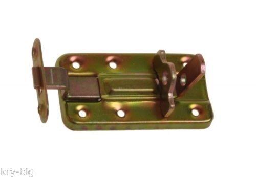 Kellerriegel, Torriegel, Türriegel, Schubriegel, für Vorhängeschloss, 80 mm