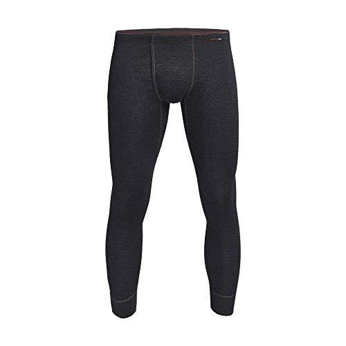 con-ta Thermo Lange Hose mit Eingriff, Lange Unterhose für Herren, wärmende Unterwäsche mit natürlicher Baumwolle, Herrenbekleidung, Größe: S - 4XL