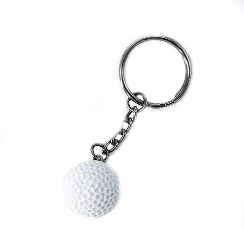 Golf Golfball Schlüsselanhänger 2cm | Geschenk | Männer | Golfschläger | Golfplatz | Sport