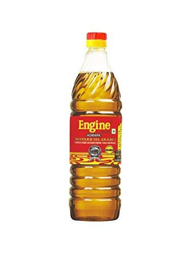 Engine Brand Kachi Ghani Mustard Oil - 1 Litre