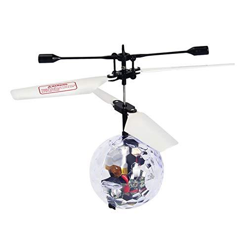 AILOVA Flying Ball RC Flying Toys Funktionsmodelle Flugzeug Hubschrauber Ball Gadgets Mini Drohne Flying Toys W / LED-Leuchten
