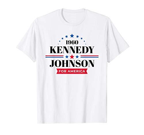 Camiseta de JFK Lyndon Johnson