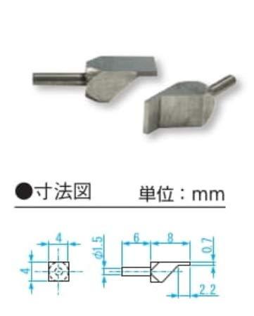 新潟精機 SK ベンチテーブルヨウブレード測定子 BT-KA07