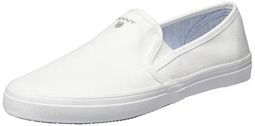 GANT Footwear Damen PREPTOWN Slipper, Weiß (Bright White G290), 38 EU