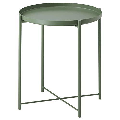 IKEA ASIA GLADOM Tabletttisch dunkelgrün