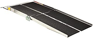 Prairie View Industries Portable Multifold Reach Wheelchair Ramp, 52 Pound