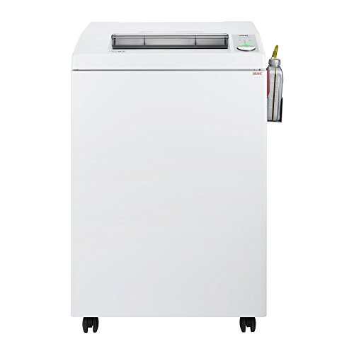 ideal. 4005 Cross-Cut Centralized Office Paper Shredder with Automatic Oiler, Continuous Operation, 37–39 Sheet Capacity, 44 Gallon Bin, Shred Staples/Paper Clips/Credit Cards/CDs/DVDs, P-4 Security