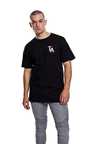 Mister Tee Herren LA T-Shirts, Black, M