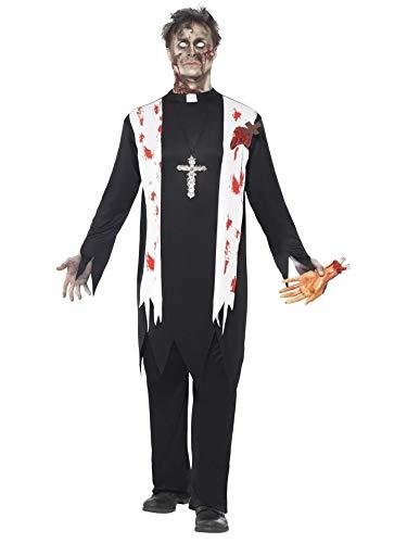 Smiffys Déguisement Zombie Religieux Homme Halloween - L