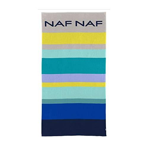 NAF NAF Toalla de playa IVES - 100% Algod�n - Multicolor - 80 x 160 cm