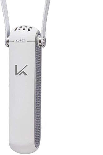 カルテック MY AIR 携帯型 パーソナル除菌脱臭機 首掛タイプ 花粉モデル ホワイト KL-P02-W 小