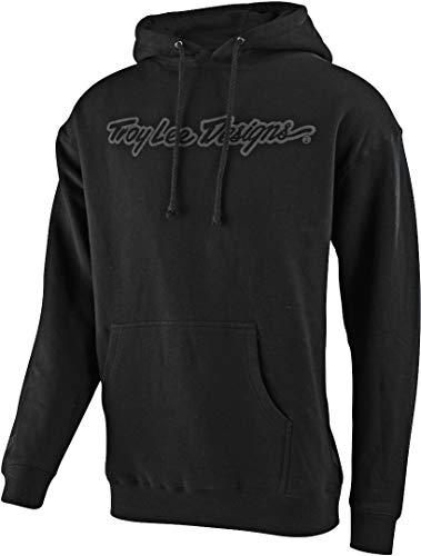 Troy Lee Designs Men's Signature SP20 Hoody,Large,Black