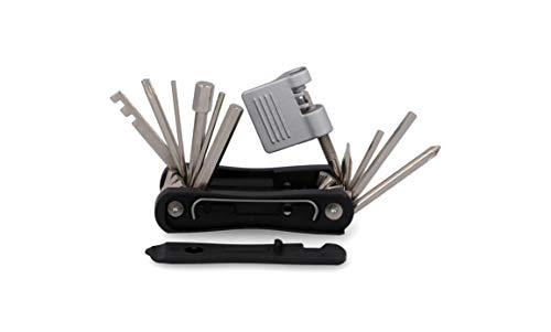 FISCHER Multifunktionswerkzeug E-Bike 15 teilig, Multitool, Werkzeuge für E-Bikes, Reparatur Set, Fahrradwerkzeug, Werkzeugset