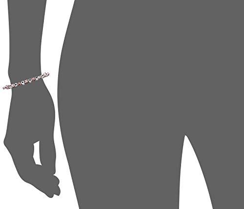 Alex and Ani XO Beaded Two-Tone Bangle Bracelet