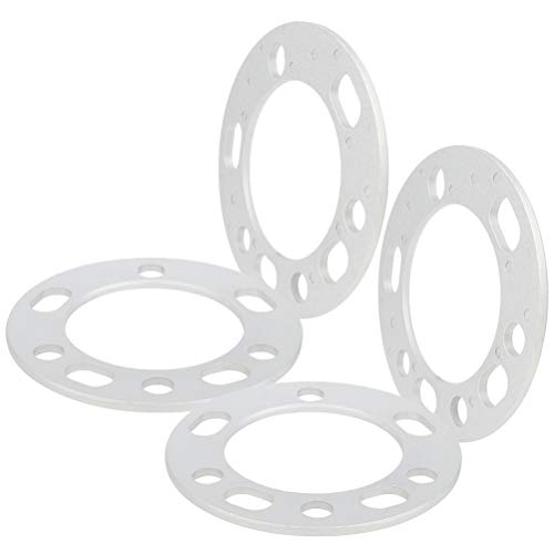 ECCPP 4x 1/4 Universal Wheel Spacers 5x5.5 Universal Spacer 5lug 5x139.7 Fit for Ford E-150 for Dodge for Ram 1500 Van