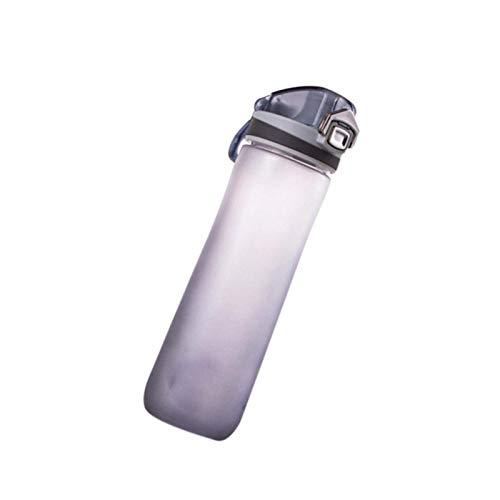 litulituhallo Botella de agua de deportes botella de bebidas jarra botella de plástico para yoga Running Fitness 500ml